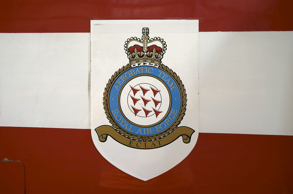 Red Arrows Squadron badge